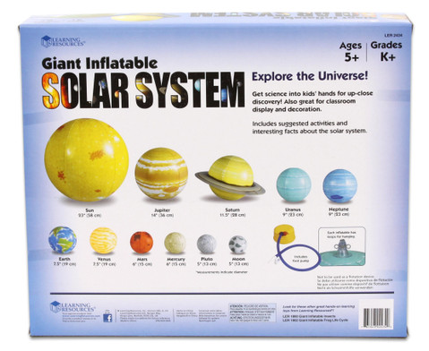 Sonnensystem zum Aufblasen 11-tlg-2