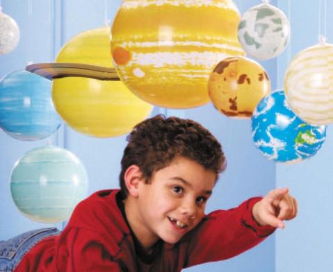 Sonnensystem zum Aufblasen 11-tlg-3