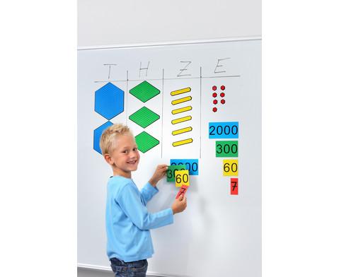 Farbiger Zehnerbasis-Satz-3