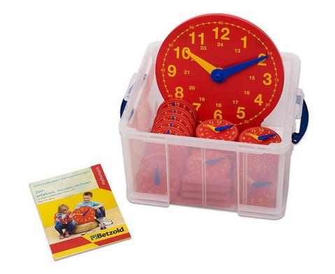 Betzold Schueler-Uhr Klassensatz mit 1 Lehreruhr und 25 Schueleruhren