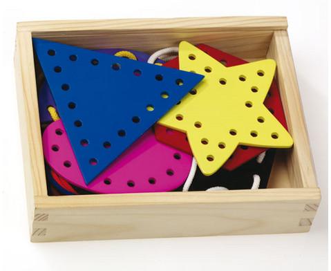 Geometrische Formen aus Holz-2