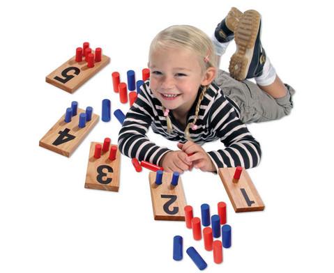 Zahlenstecktafeln aus Holz-4