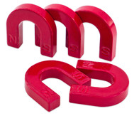 Hufeisen-Magnete, 5 Stück