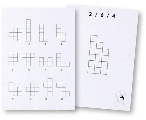 Pentomino Arbeitskarten Satz 1-1