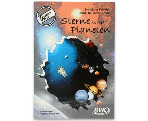 Themenheft Sterne und Planeten - 3-5 Klasse