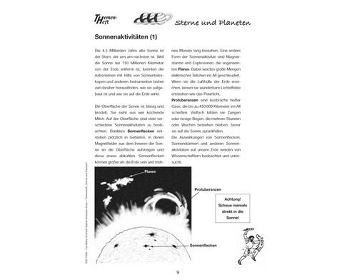 Themenheft Sterne und Planeten - 3-5 Klasse-5