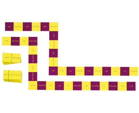 Dominospiele - Negative Zahlen-2