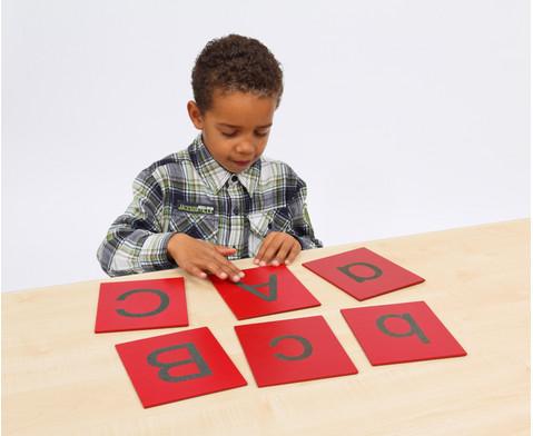 Fuehl- und Tastplatten Grossbuchstaben