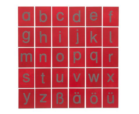 Betzold Fuehl- und Tastplatten Kleinbuchstaben