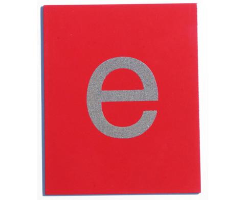 Fuehl- und Tastplatten Kleinbuchstaben