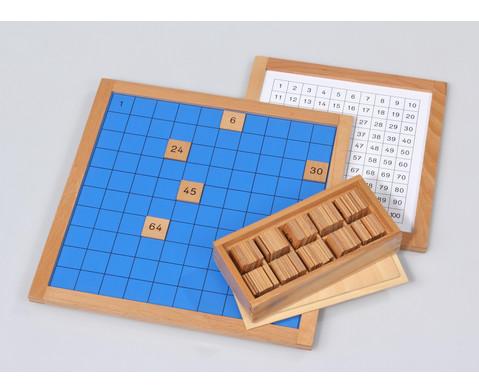 Kontrollkarte fuer das Hunderterbrett-2