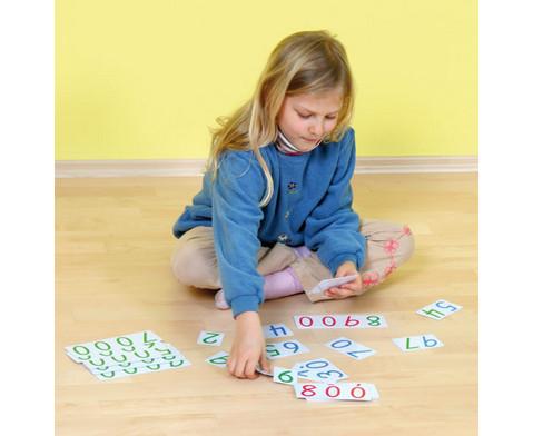 Zahlenkarten aus Kunststoff-2