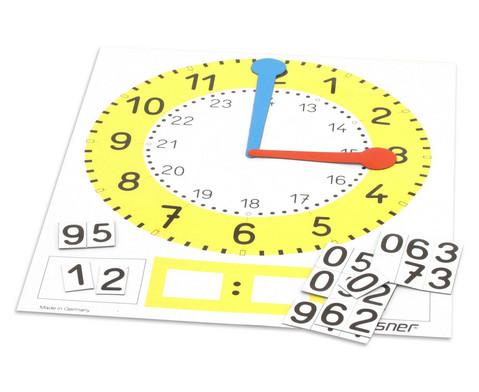 edumero Tafel-Uhr, magnetisch