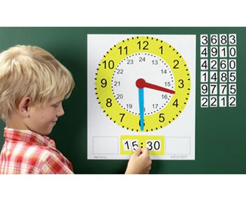 Tafel-Uhr magnetisch-1