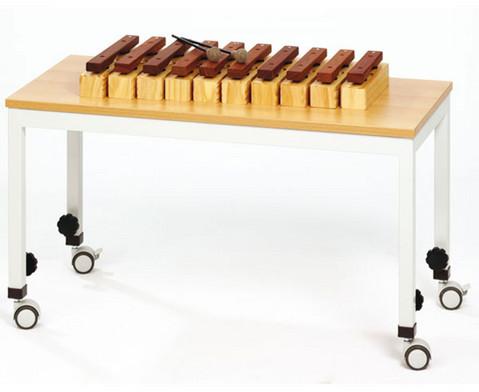 Spieltisch B fahrbar 110 x 70 cm