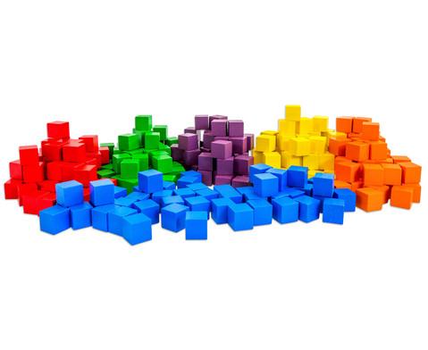 Klassensatz mit 300 Wuerfeln und 3 Kunststoff-Boxen-2