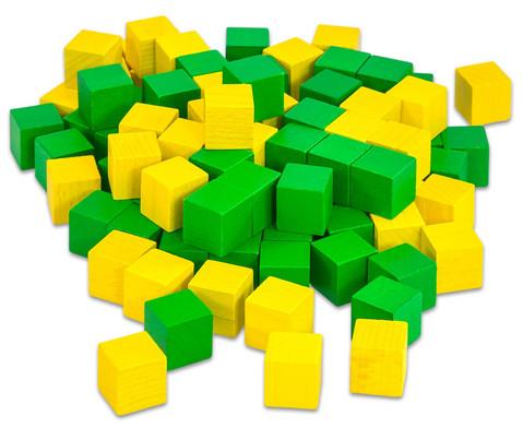 Klassensatz mit 300 Wuerfeln und 3 Kunststoff-Boxen-3