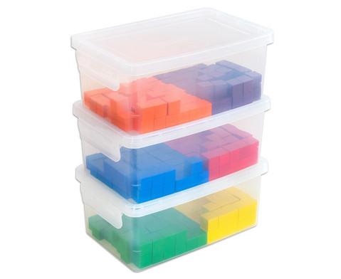 Klassensatz mit 300 Wuerfeln und 3 Kunststoff-Boxen-4