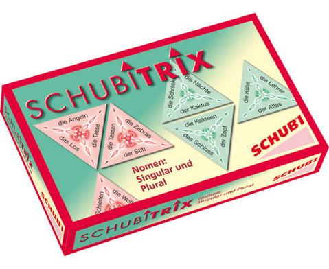 SCHUBITRIX - Nomen Singular und Plural