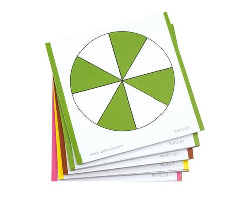 Betzold farbige Bruchrechenkarten 115 Stueck