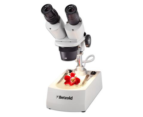 Betzold Stereomikroskop ST 0-40R LED netzunabhaengig