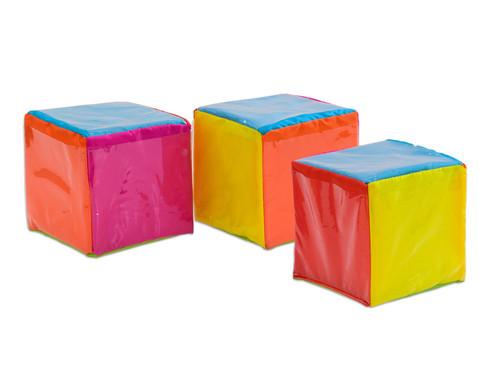 Satz mit 3 Pocket Cubes