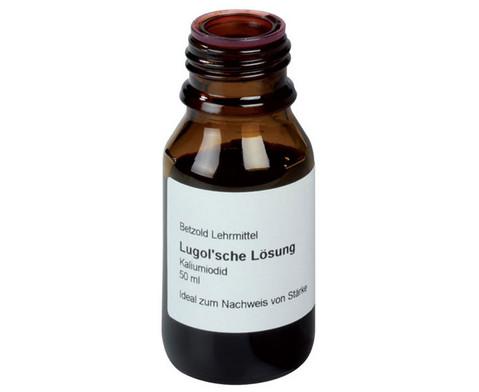 Lugolsche Loesung zum Staerkenachweis 50 ml