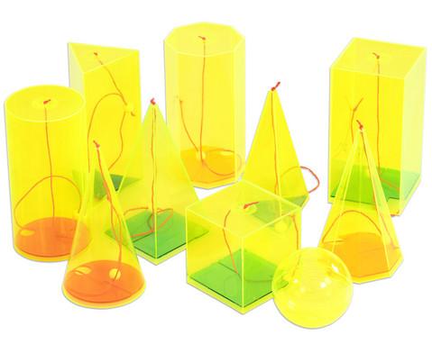10 geometrische Koerper davon 9 mit beweglichen Hoehenfaeden-1