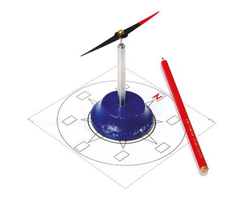 Magnetnadel auf Stativ-1