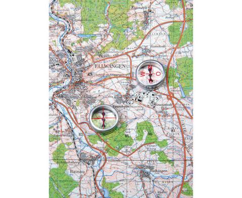Einzelner Kompass Mit Himmelsrichtungen-2