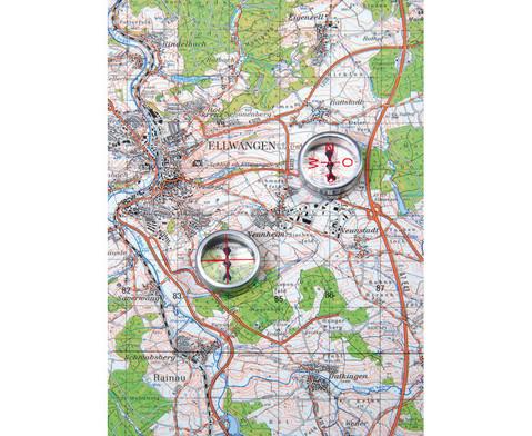 Einzelner Kompass Mit Himmelsrichtungen-1