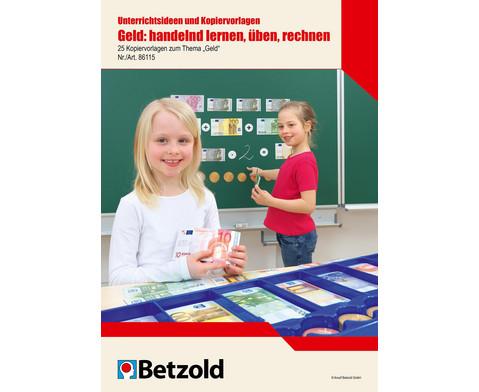 Geld handelnd lernen ueben rechnen Unterrichtsideen- Kopiervorlagen