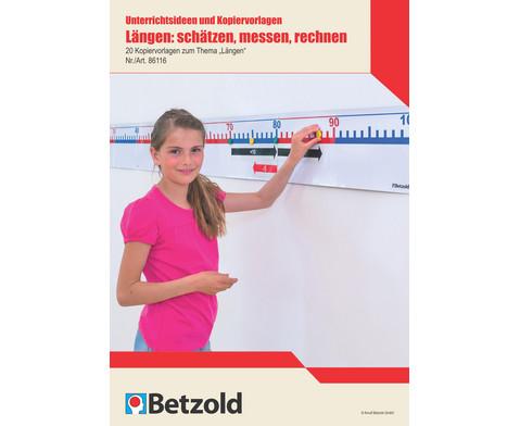 Laengen schaetzen messen rechnen Unterrichtsideen und Kopiervorlagen