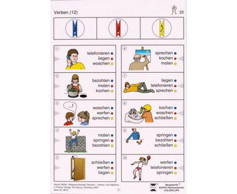 Colorclip Alltagswortschatz Deutsch - Verben-Adjektive-2