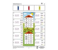 Colorclip: Zahlenmauern, Zahlenhäuser, Rechenräder ZR 100