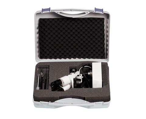 Betzold Stereo-Mikroskop ST 0-40R LED Praeparierbesteck Schutzkoffer