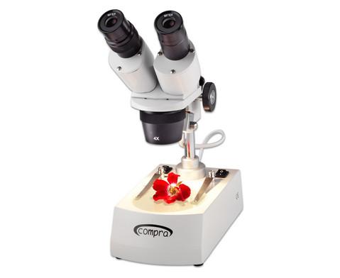 Stereo-Mikroskop Compra ST 0-40R LED Praeparierbesteck Schutzkoffer-3