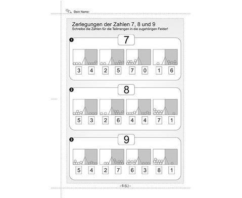 Kopier-Vorlagen Zerlegungsuebungen mit dem Multi-Split-5