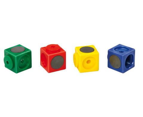 Riesensteckwuerfel 20 Stueck magnetisch 4 Farben-2