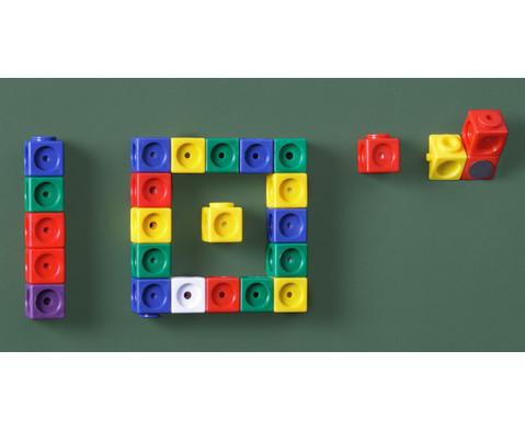 Riesensteckwuerfel 20 Stueck magnetisch 4 Farben-3