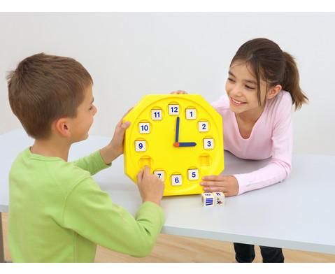 Lern-Uhr Zeit  Zeiger-3