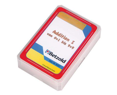 Kartensatz fuer den Magischen Zylinder - Addition I-1