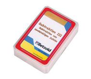 Kartensatz für den Magischen Zylinder - Subtraktion III