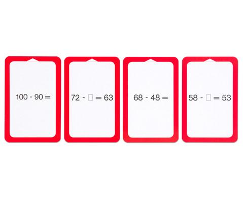 Kartensatz fuer den Magischen Zylinder - Subtraktion III-4