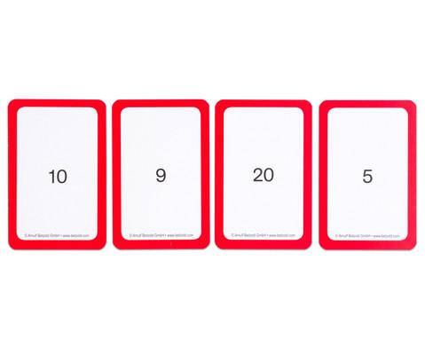 Kartensatz fuer den Magischen Zylinder - Subtraktion III-7