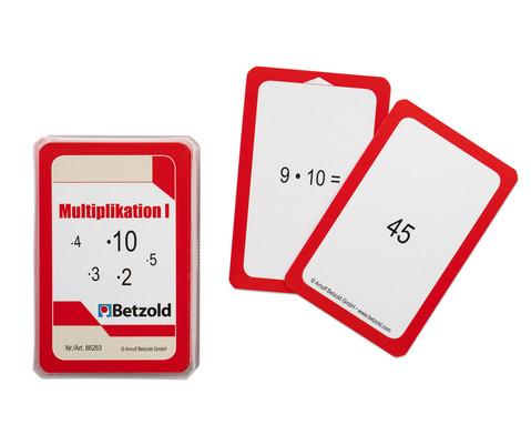 Betzold Kartensatz fuer den Magischen Zylinder - Multiplikation I
