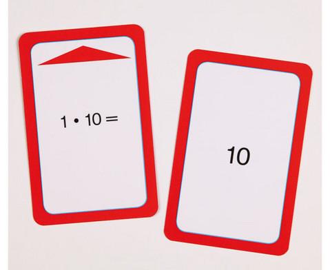 Kartensatz fuer den Magischen Zylinder - Multiplikation I-2