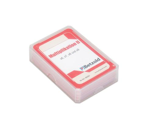 Kartensatz fuer den Magischen Zylinder - Multiplikation II-2