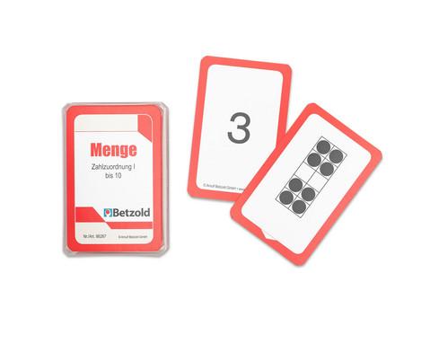 Kartensatz fuer den Magischen Zylinder - Menge-Zahlzuordnung bis 10