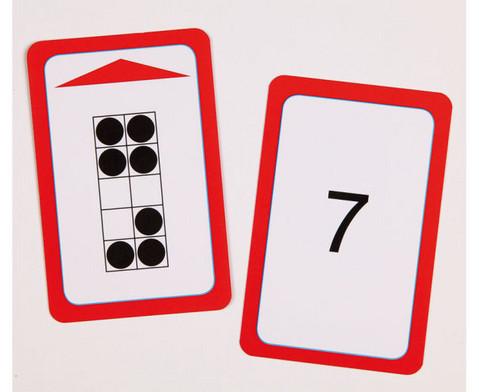 Kartensatz fuer den Magischen Zylinder - Menge-Zahlzuordnung bis 10-2